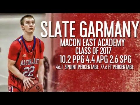 Slate Garmany Macon East Academy Class of 2017