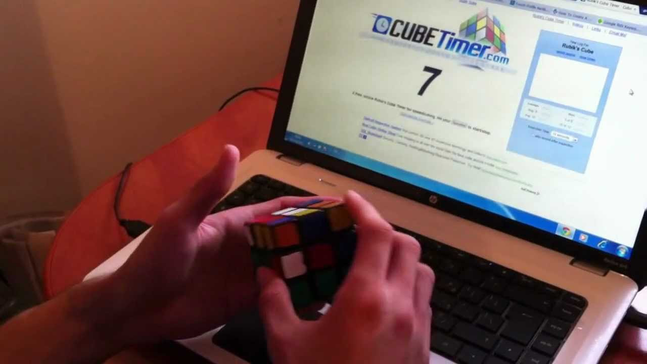 Rubik's Cube Solution Video Link