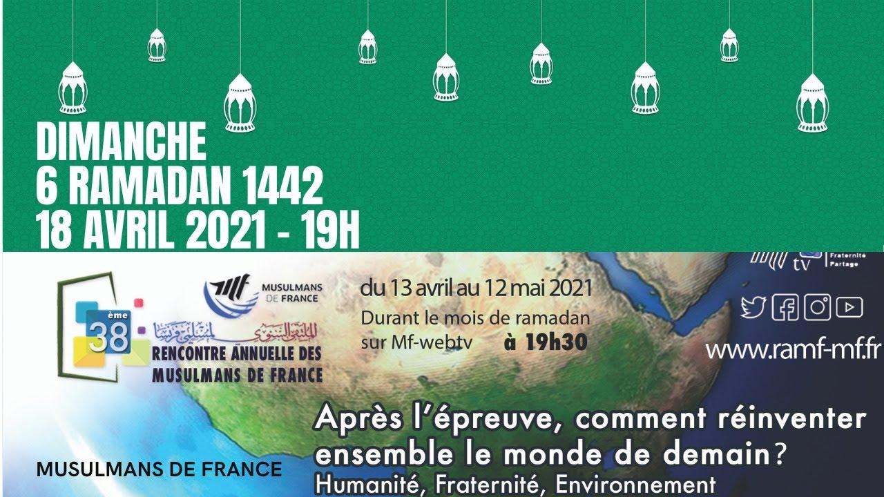 rencontre annuelle des musulmans de france 2021 live