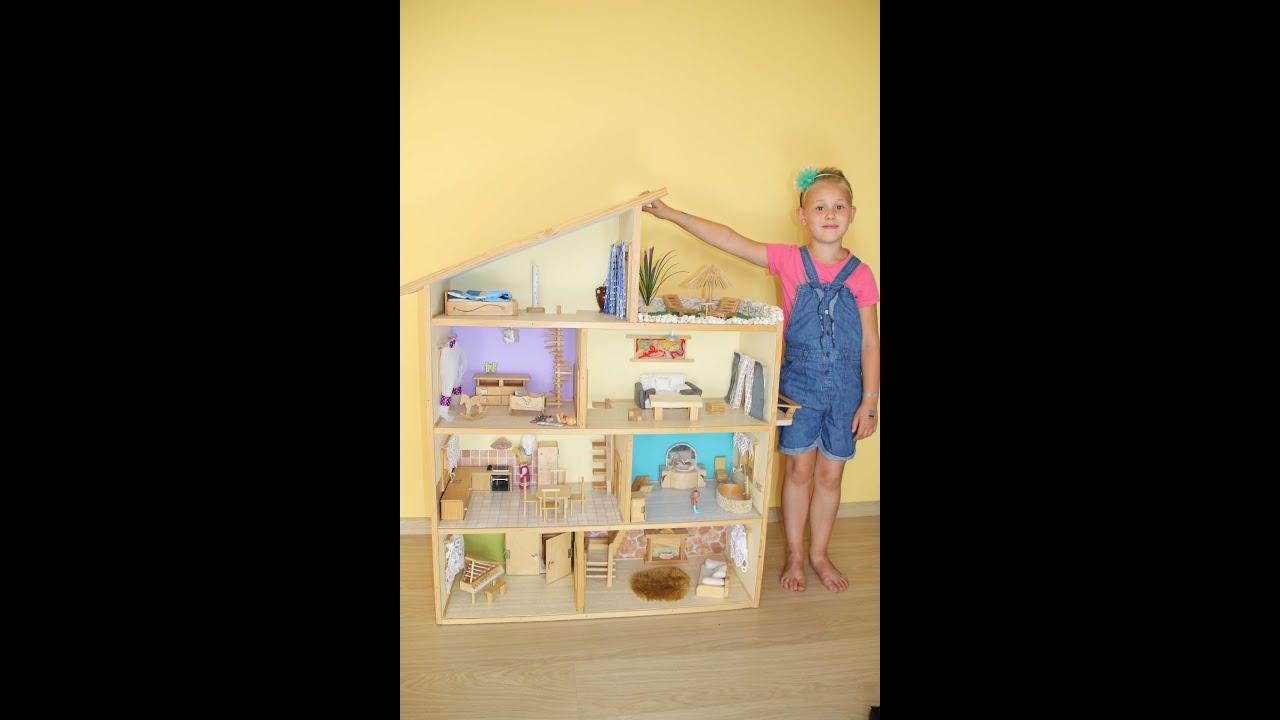 Groovy Domek dla lalek - z drewna, zrób to sam. hölzernes Puppenhaus DI74