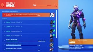 RETURN THE Challenges from OMEGA to Fortnite (How to Unlock Lights Skin Omega Season 8)