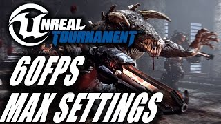 Unreal Tournament 4 Pre-Alpha - PC Gameplay [1080p 60FPS Max Settings] [GTX 970]