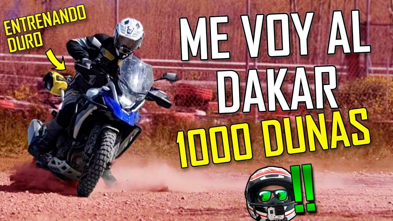 "ME VOY AL ""DAKAR"" - OBJETIVO 1000 DUNAS Ep.1"
