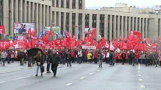 В Москве оппозиция провела митинг, приуроченный к Единому дню голосования 8 сентября.