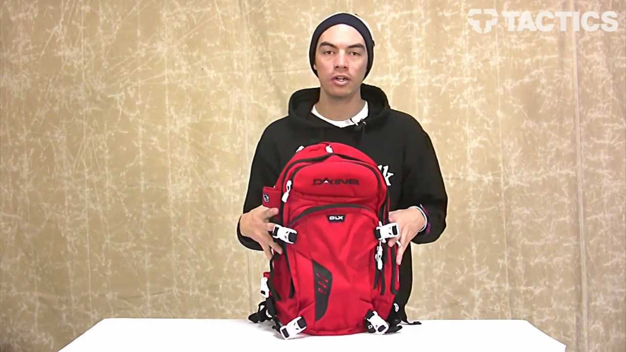 Dakine 2013 Heli Pro DLX Backpack Review Tactics.com - YouTube