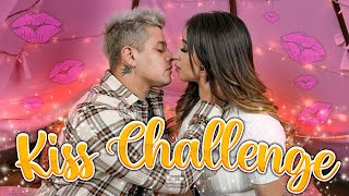 KISS CHALLENGE CON MI CRUSH 😳 El VIDEO MÁS INCOMODO | Queen Buenrostro