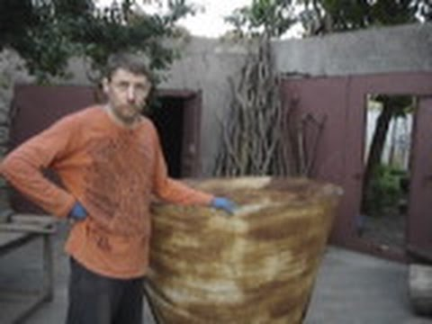 Гибка конуса из стального листа вручную