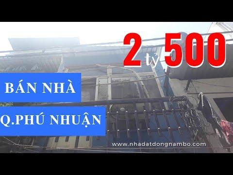 Chính chủ Bán nhà quận Phú Nhuận giá rẻ, HXH đường Phan Đăng Lưu