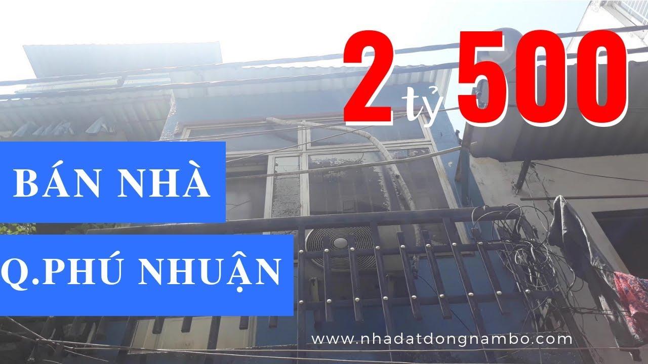 Bán nhà quận Phú Nhuận giá rẻ, HXH đường Phan Đăng Lưu. Sổ hồng, bao sang tên - ĐÃ BÁN