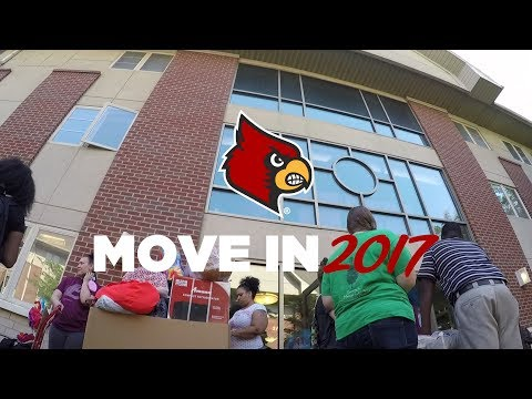Move in 2017 - University of Louisville