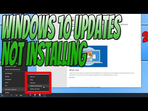 How To FIX Windows 10 Updates Pending and Not Installing Tutorial