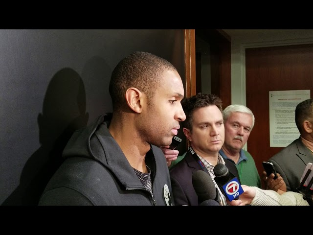 6f258afb514 Al Horford says Kyrie Irving s rebounding binge starts to make Boston  Celtics  elite  - masslive.com