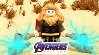 LEGO Avengers Endgame Thor! Epic Costume!