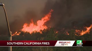 Wildfires Surround Southern California Communities
