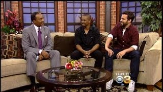 """Jake Johnson and Damon Wayans Jr. Talk About Their New Movie """"Let's Be Cops"""""""