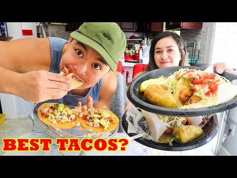 BEST FISH TACOS In LOS ANGELES? | Taco Nazo