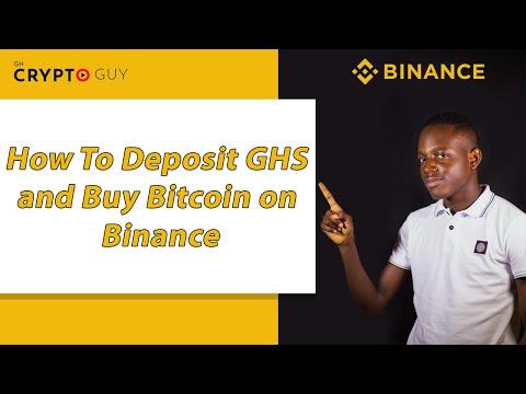 How To Buy Bitcoin In Ghana On Binance In 2021 (Deposit Ghana Cedi Directly)