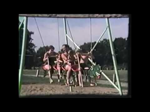 1977 Holiday sands in Ravenna Ohio   Playground Dragon swing