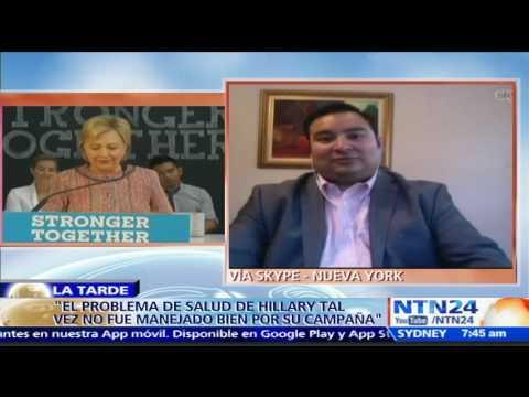 """""""Hillary Clinton es una figura polarizante"""": Luis Montes ante reñida campaña electoral en EE.UU."""