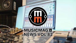 Musicmag TV News #82 HD: Лучшие синтезаторы 2017 года, MIDI-контроллер из трекпада Macbook и др.