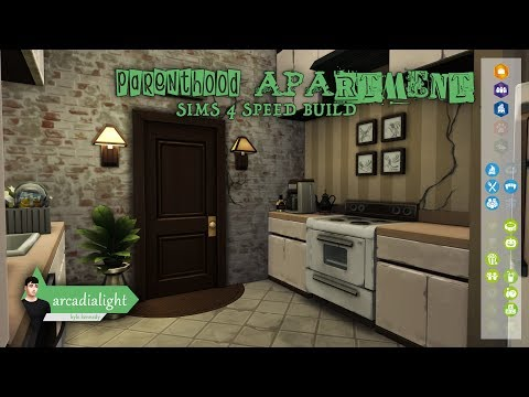 PARENTHOOD APARTMENT \\ The Sims 4: Speed Build (in 4K!)