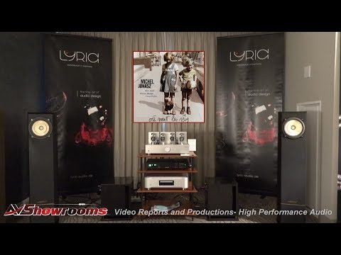 Lyric Audio Amplfiers and Cables, TI 200 Amplifier North America Premiere, Voxativ Speakers, RMAF 20