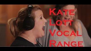Kate Lott in Voctave High Notes Vocal Range