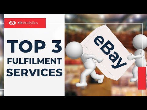 Top 3 eBay Fulfilment Services to Automate eBay Dropshipping | Zik Analytics
