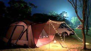 【スノーピーク】トルテュpro で夫婦キャンプ  /  삼원…