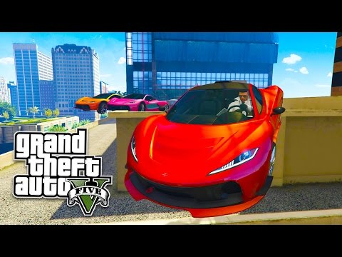 GTA 5 Online EPIC Stunts, Jumps & Races Playlist! AWESOME GTA 5 Online Races! (GTA 5 PS4 Gameplay)