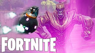 THANOS ' SECRET DANCE! FORTNITE