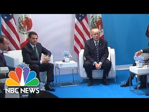 President Donald Trump At Nieto Meeting: Mexico 'Absolutely' Pays For Wall | NBC News