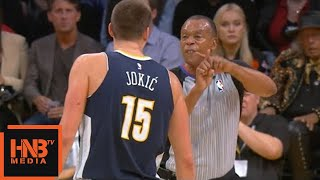 Mike Malone & Nikola Jokic Removed From The Game OMG / LA Lakers vs Nuggets