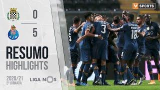Highlights   Resumo: Boavista 0-5 FC Porto (Liga 20/21 #2)