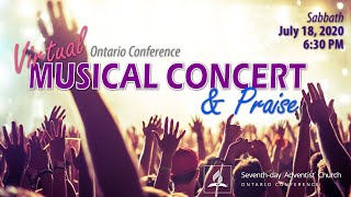 Ontario Conference Virtual Musical Concert and Praise