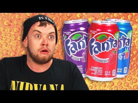 Irish People Taste Test American Fanta