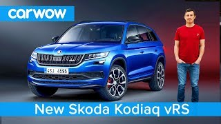 All-new Skoda Kodiaq vRS 2019 - is this performance version of the 7 Seat SUV madness?