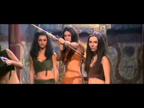 Amazon battle - Zan, King Of The Jungle (1969)