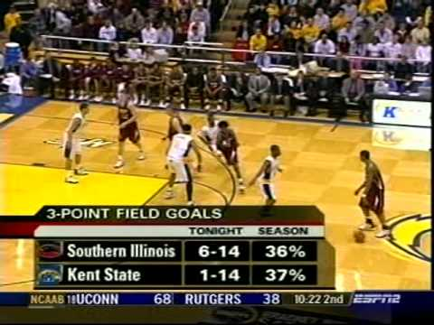 Southern Illinois at Kent State, 2005, second half