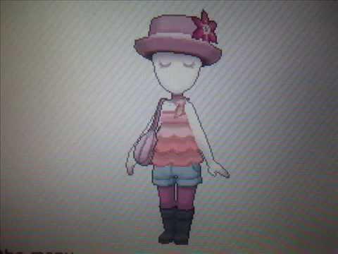 Poku00e9mon X u0026 Y - Girl Outfits (Anistar City) - YouTube