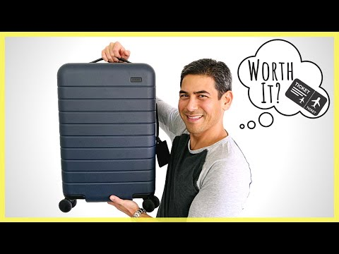 Is The Away Suitcase Awesome Or Overhyped?   Review Of The Popular Suitcase & Travel Brand