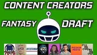 2019 Content Creators Fantasy Draft