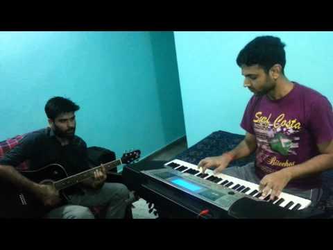 Aadat Piano and guitar mix