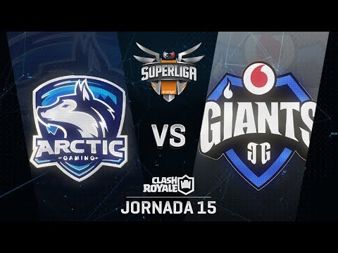SUPERLIGA ORANGE - ARCTIC GAMING VS VODAFONE GIANTS - Jornada 15 - #SuperligaOrangeCR15