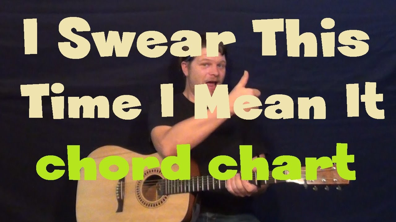 I Swear This Time I Mean It Mayday Parade Guitar Chord Chart Youtube
