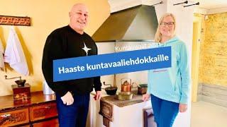 Juha Hänninen ja Kati Jurkko haastavat ehdokkaat nostamaan kotiseututyötä esille