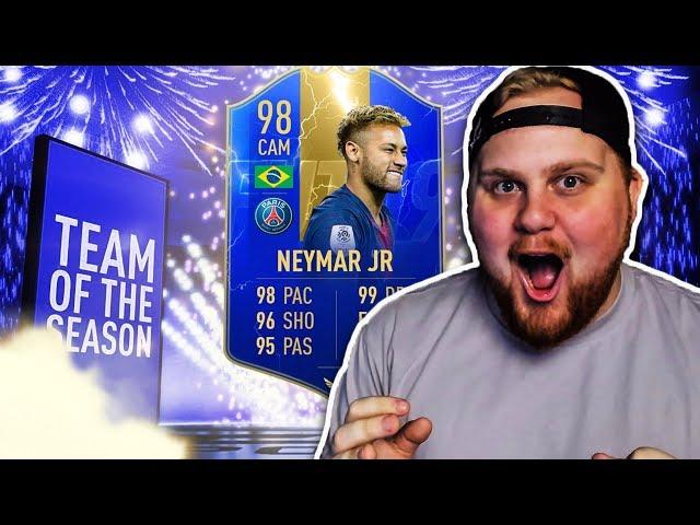 OMG FÅR *98 NEYMAR & 96 MBAPPE TOTS* I PLAYERPICK!! - FIFA 19 SVENSKA