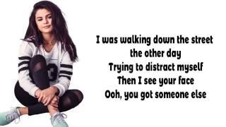 """Selena Gomez new """"bad lair"""" lyrics video"""