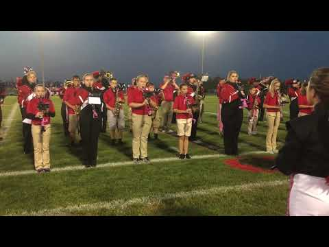 Orion High School and Orion Middle School bands