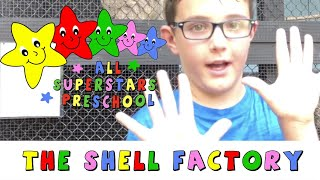 The Einsteins visit The Shell Factory